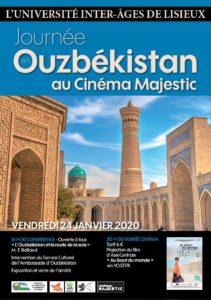 Journée Ouzbékistan - Conférence :  LA ROUTE DE LA SOIE @ Cinéma Majestic
